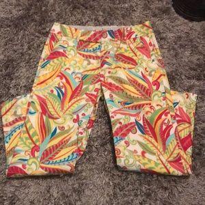 Tommy Hilfiger patterned capris